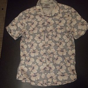 Ted Baker Floral Button Down Shirt
